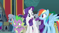 Rarity called upon S3E5