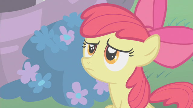 File:Apple Bloom 'Applejack says these things take time' S01E12.png