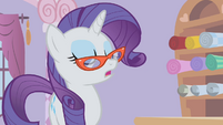 Rarity insisting on making a new dress S1E14