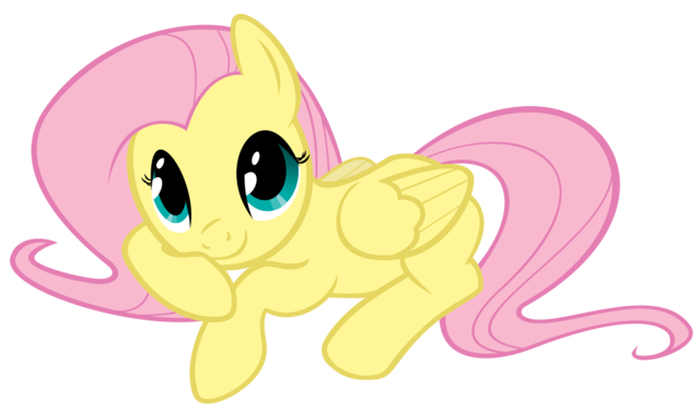 File:FANMADE Fluttershy being cute.png