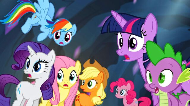 File:Mane Six Spike cave.jpg
