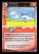 Silverspeed, Eye in the Sky card MLP CCG