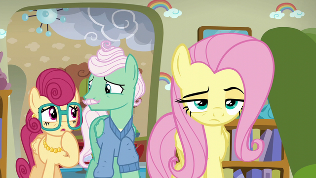 File:Mr. and Mrs. Shy surprised by Fluttershy's attitude S6E11.png