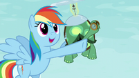 Rainbow pointing up S5E5