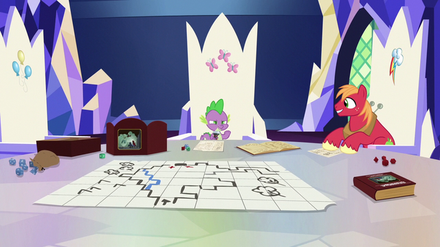 File:Spike presents Ogres & Oubliettes S6E17.png