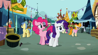 Pinkie Pie Rarity worry S02E19