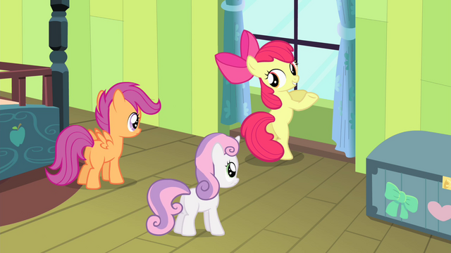"File:Apple Bloom ""The pies!"" S4E17.png"