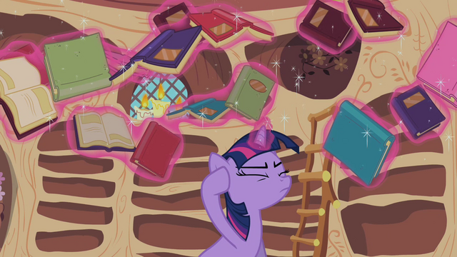 File:Twilight Sparkle reshelf books 1 S02E10.png