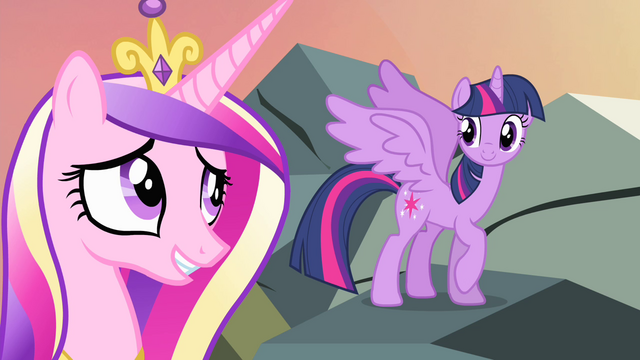 File:Twilight and Cadance relieved S4E11.png