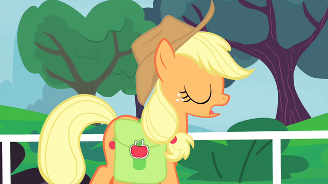 """File:Applejack """"Absolutely not"""" S4E20.png"""