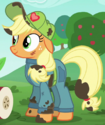 Applejack mechanic outfit ID S6E14