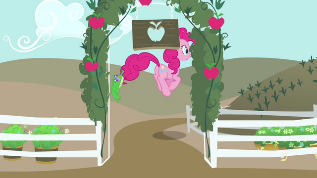 File:Pinkie Pie hopping away S4E03.png