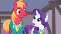 "Rarity and Big Mac ""would it be okay"" S4E14"