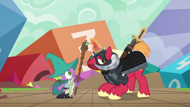 File:Sir McBiggen sheathing his sword S6E17.png