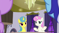 Lemon Hearts and Twinkleshine acting nervous S5E12