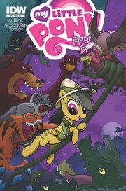 Comic issue 16 cover RI