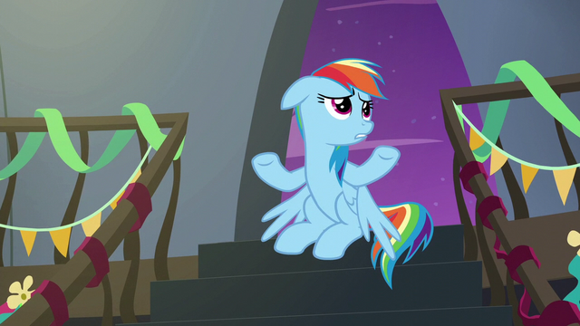 "File:Rainbow ""maybe some of the Wonderbolts"" S6E7.png"