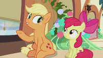 "Applejack ""the traditional Hearth's Warmin' Eve dinner"" S5E20"