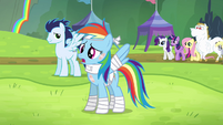 "Rainbow Dash ""I feel great because"" S4E10"