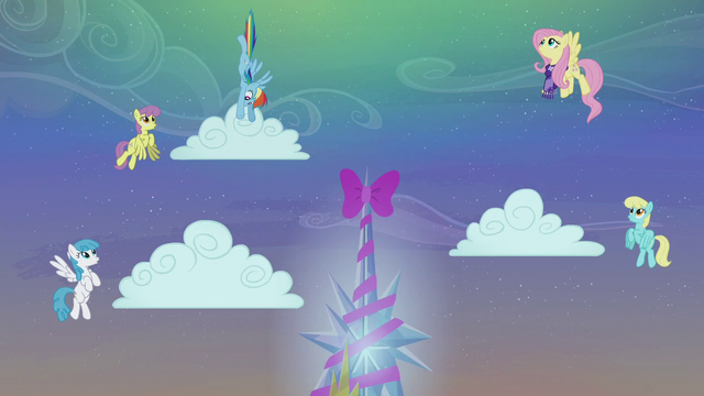 File:Rainbow Dash making the clouds snow S06E08.png