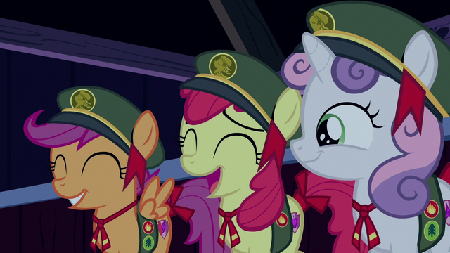 "File:Apple Bloom ""talk about funny!"" S6E15.png"
