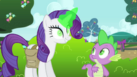 "Rarity ""let's do something about that"" S4E23"