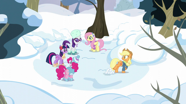 File:Twilight and friends in winter attire S5E5.png