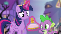 Spike 'you sure about this?' S4E02