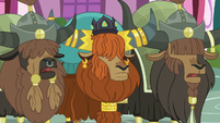 "The other yaks ""Uh-huh"" S5E11"