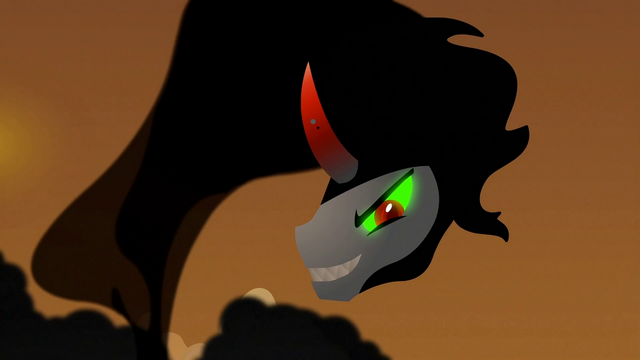 File:King Sombra cloud looking at pony S3E2.png