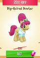 Big-Haired Bowler MLP Gameloft.png