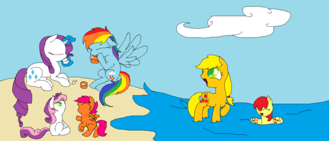 File:FANMADE At the beach.png
