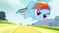 Rainbow Dash beyond Max Q S2E22
