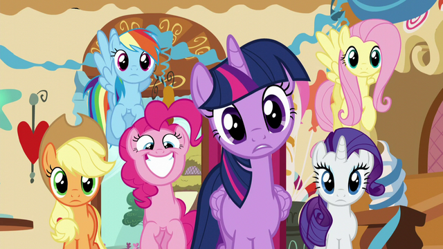 File:Twilight confused; Pinkie excited S5E19.png