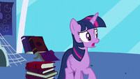 Twilight tells Moon Dancer to wait S5E12