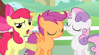 "Apple Bloom ""have to do with flag carrying"" S4E05"