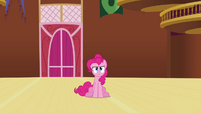 Pinkie Pie still staring S3E3