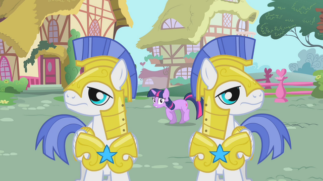 File:Twilight sneaks past Royal Guards S01E22.png
