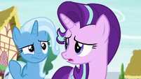 Starlight and Trixie both looking confused S6E25