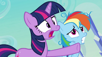 Twilight trying to keep calm S3E12