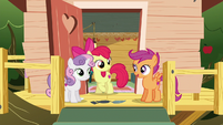 """Scootaloo """"we were able to help her get her mark"""" S6E19"""