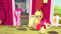 Apple Bloom trotting outside S4E09.png