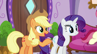 "Applejack ""didn't think spa treatments were your thing"" S6E10"