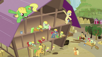 Fixing barn waving S3E08