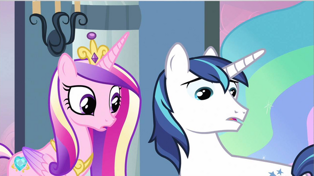 File:Princess Cadance & Shining Armor notice missing S2E25.png