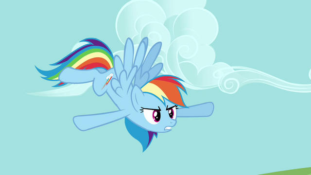 "File:Rainbow Dash ""chaos capital of the world"" S03E10.png"