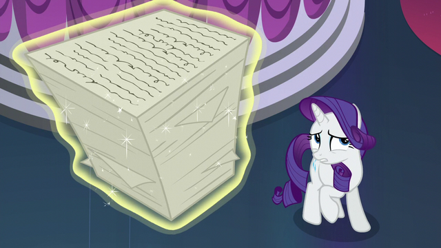 "File:Rarity ""One hundred orders?!"" S5E14.png"