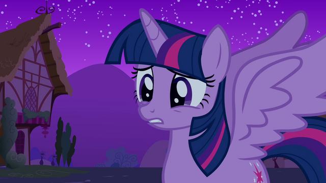 "File:Alicorn Twilight ""a princess?"" S03E13.png"
