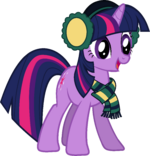 Twilight Sparkle Hearth's Warming Eve Card Creator