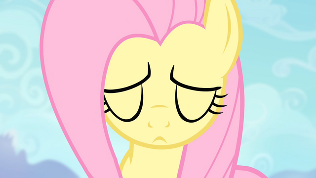 File:Fluttershy about to do the Stare S4E07.png
